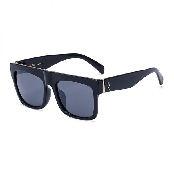 Famous Fashion Trendsetter Kim Kardashian Square Celebrity Italy Sunglasses Lady UV400 Women Men Sun Glasses 50S Female Hot Sale Brand Designer 1