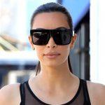 Famous Fashion Trendsetter Kim Kardashian Square Celebrity Italy Sunglasses Lady UV400 Women Men Sun Glasses 50S Female Hot Sale Brand Designer