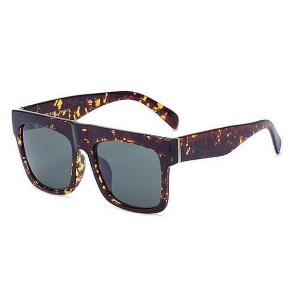 Famous Fashion Trendsetter Kim Kardashian Square Celebrity Italy Sunglasses Lady UV400 Women Men Sun Glasses 50S Female Hot Sale Brand Designer 4