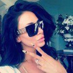 Kim Kardashian Gold Metal Chain 4