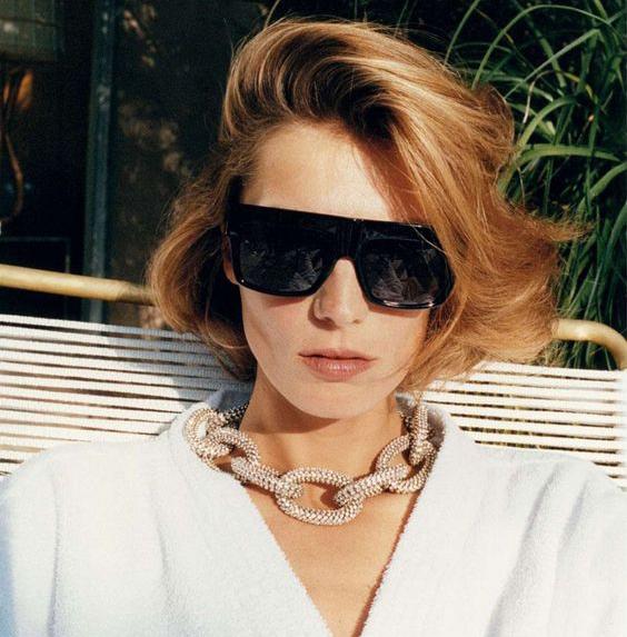 Famous Fashion Trendsetter Kim Kardashian Square Celebrity Italy Sunglasses Lady UV400 Women Men Sun Glasses 50S Female Hot Sale Brand Designer 3