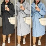 Simplee-Long-straight-winter-coat-with-rhombus-pattern-Casual-sashes-women-parkas-Deep-pockets-tailored-collar-3.jpg